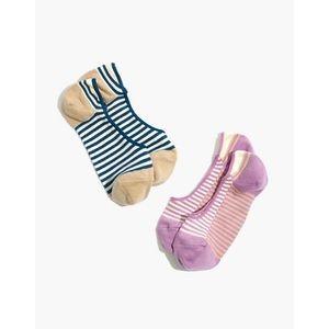 Two-Pack Stripe-Play Low-Profile Socks